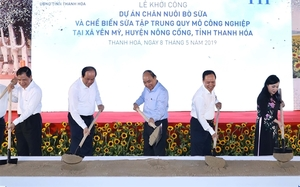 Thanh Hoa to have $162.6 million dairy cow farm
