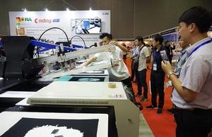 HCM City hosts int'l screen printing, digital technology exhibition