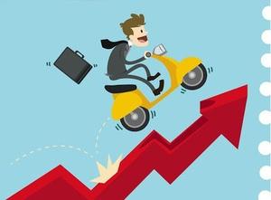 Shares rebound after three day decline