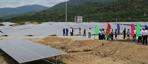 New solar plant powers up