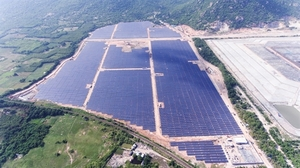 Vinh Tan 2 solar power plant opens for business