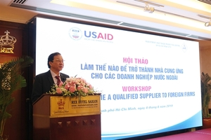 Vietnamese SMEs shown how to enter the global supply chain