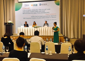 OCB is first bank in VN to use IBM Integrated Analytics System