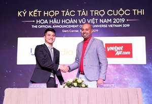 Vietjet becomestransport sponsor for Miss Universe Vietnam 2019