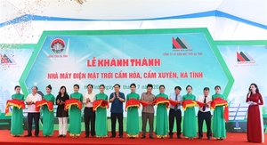 $63 million solar power plant opens in Ha Tinh