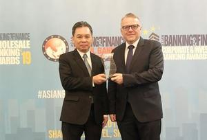HDBank winsAsian Banking and Finance award for VN's best domestic retail bank