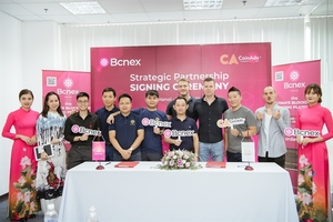 Bcnex partners with Coinads in listings and marketing