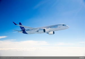 New Airbus A220 begins demonstration tour of Asia
