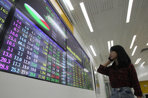Stocks rally on global developments