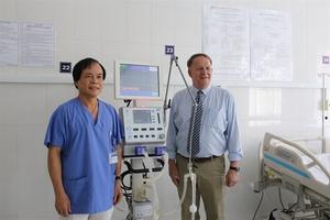 VinaCapital Foundation funds medical equipment, pediatric training