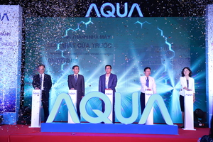 AQUA Vietnam sets up sophisticated drum washing machine plant