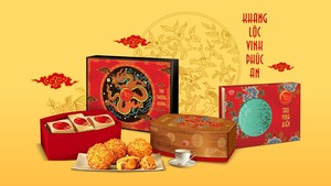 Unique patterns, exceptional craftsmanship to celebrate the art of mooncake making