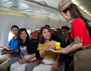 Vietjet offers cheap tickets on domestic routes