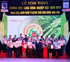 Vietnamese agricultural brands honoured