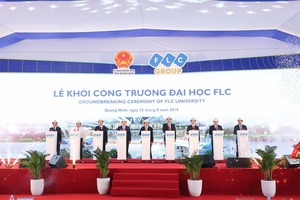 FLC starts construction of university in Quang Ninh