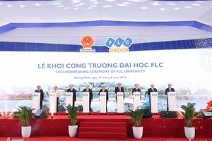FLC startsconstruction of university in Quang Ninh