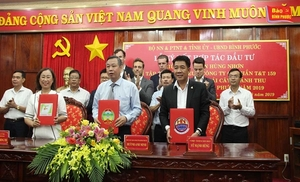 Deal to develop three high-tech agriculture projects worth $73m inked in Binh Phuoc