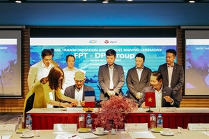 Digital Transformation Deal signed between FPT and DPDgroup