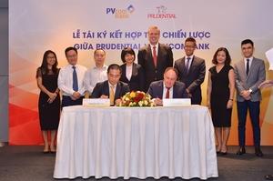 Prudential Vietnam, PVcomBank continue bancassurance partnership