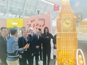 Vietnamese handicraft-makers display goods atUK's leading international design-led event