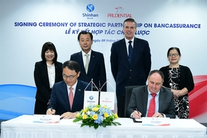 Shinhan Bank to distribute Prudential's insurance products in Viet Nam