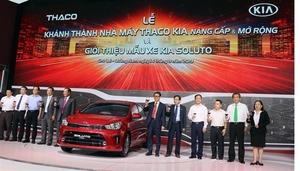 Upgraded Thaco KIA factory inaugurated