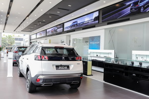 Cars, showrooms: Peugeot brings European standards to Viet Nam