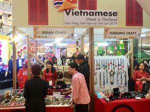 Vietnamese goods shine in Thailand