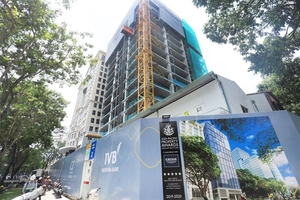 Grade A office building in HCM City on schedule for completion in Q1 2020