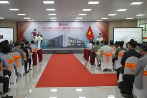 Automobile component plant opens in Ninh Binh
