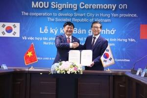 Hung Yen, LH team up for smart city development