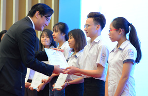 Lawrence S. Ting scholarships awarded to outstanding students