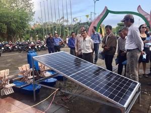 Mekong Delta shrimp farmers take baby stepstowards renewable energy