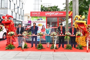 Vietjet opens a new ticket office in HCM City