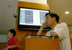 Shares decline after holiday due to investors' vigilance