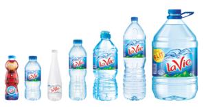La Vie stops using plastic cap seals on water bottles