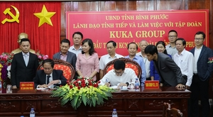 Chinese firm invests in $50m factory in Binh Phuoc