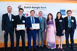 HDBank receives green finance award