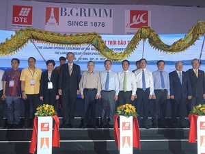Dau Tieng solar power plant inaugurated in Tay Ninh