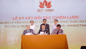Artist Quy Binh now an entrepreneur
