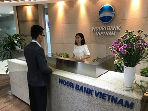 Woori Bank opens five branches in VN