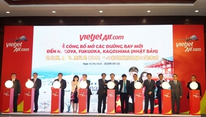 Vietjet opens five new routes to Japan