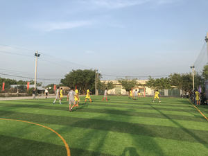 Tiger Beer builds three mini-football fields for communities