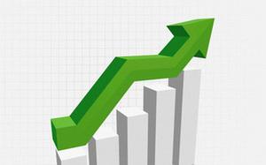 Shares make gains on bank stocks