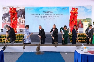 TH Group rolls out dairy project in northern mountainous province