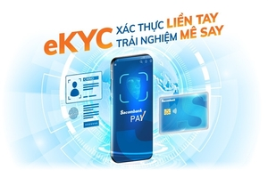 Sacombank Pay enables online identity verification, account opening
