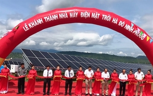 One more solar power plant inaugurated in Ninh Thuan