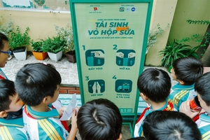 "400 schools in HCM City take part in ""Green journey, recycling milk cartons"" contest"