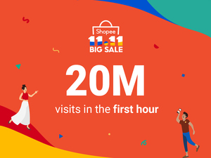 Shopee makes strong start to 11.11 Big Sale