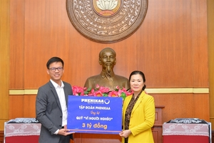Phenikaa Group donates VND5 billon to the poor